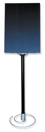 Sign Holders, Steel Coil Base A4.   Box of 1.