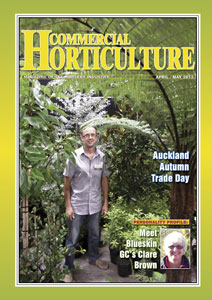 Commercial Horticulture Magazine PRINTED VERSION 1-Year Subscription (6 issues) for Delivery OUTSIDE NZ