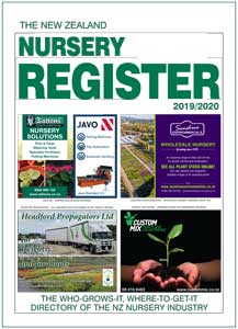 NZ Nursery Register for delivery OUTSIDE NZ (Freight Included)