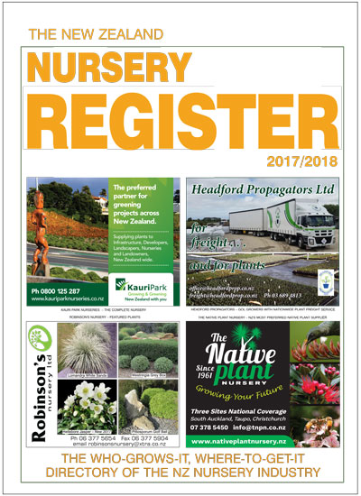 NZ Nursery Register 2017