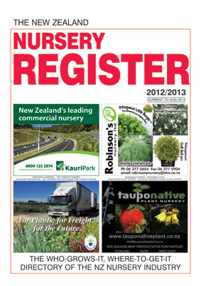 NZ Nursery Register for delivery WITHIN NZ .....(Free delivery within NZ)