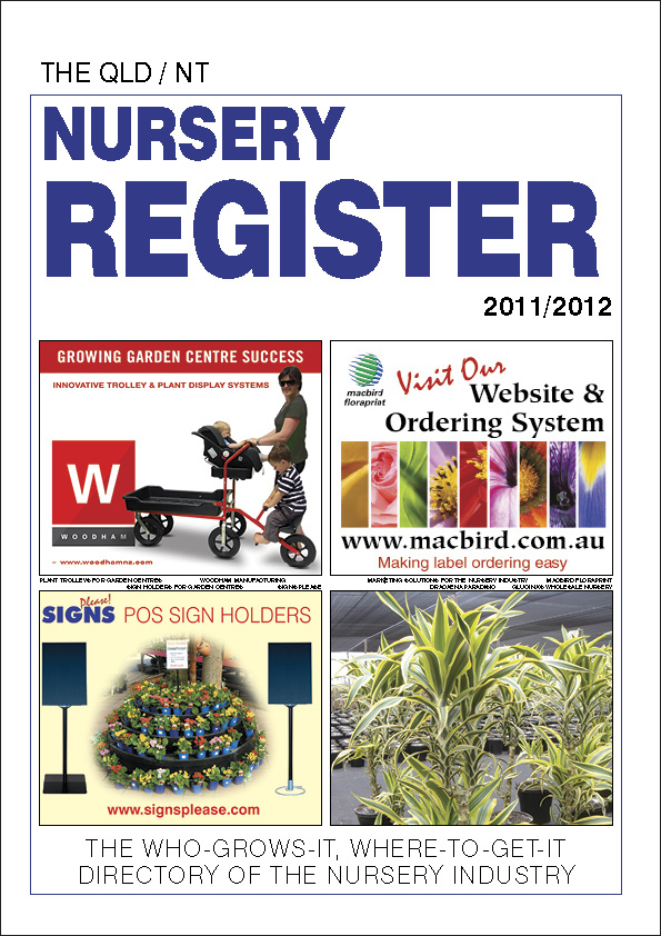 QLD/NT Nursery Register for delivery OUTSIDE NZ