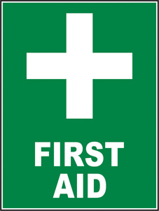 SAFETY SIGN (SAV) | First Aid