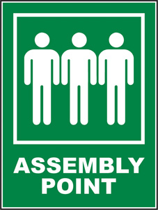 SAFETY SIGN (SAV) | Assembly Point
