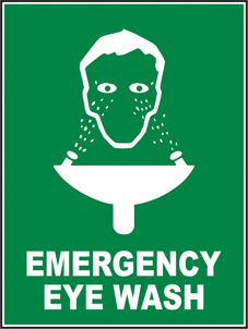 SAFETY SIGN (SAV) | Emergency Eye Wash