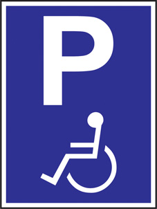 SAFETY SIGN (SAV) | Disabled Parking