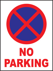 SAFETY SIGN (SAV) | No Parking