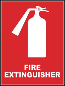 SAFETY SIGN (SAV) | Fire Extinguisher
