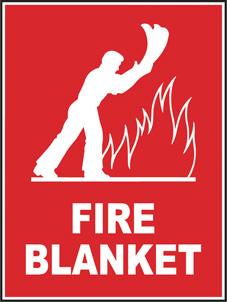 SAFETY SIGN (SAV) | Fire Blanket