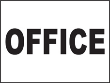 SAFETY SIGN (SAV) | General Signs - Office