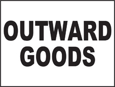 SAFETY SIGN (SAV) | General Signs - Outward Goods