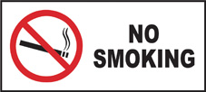SAFETY SIGN (SAV) | Prohibition - No Smoking