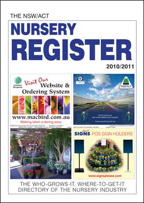 NSW/ACT Nursery Register for delivery OUTSIDE NZ